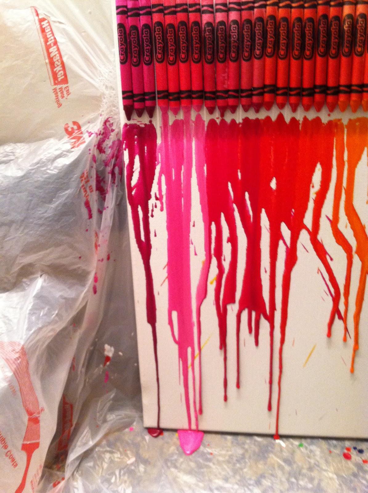 Nicole S Crafting Adventure Diy Crayon Art