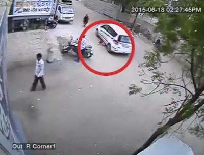 Απίστευτο! Αυτοκίνητο πέρασε δύο φορές πάνω από 3χρονη...