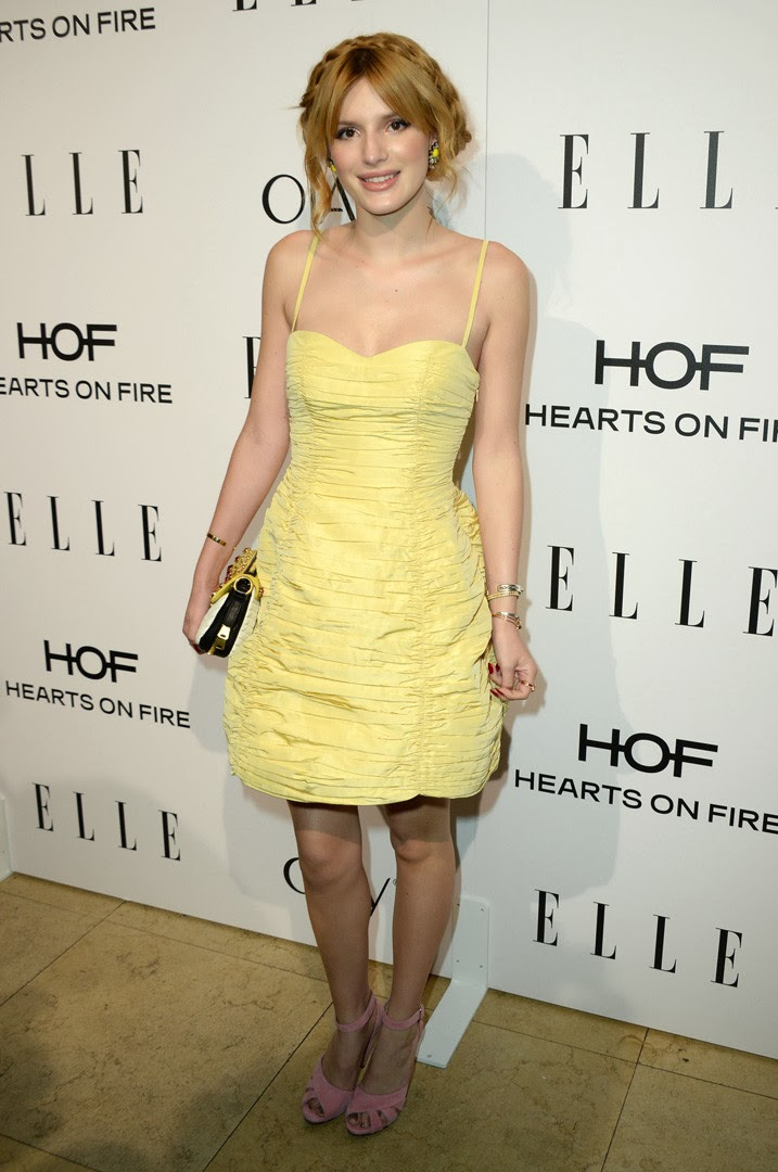 Elle's Women in Television bella thorne