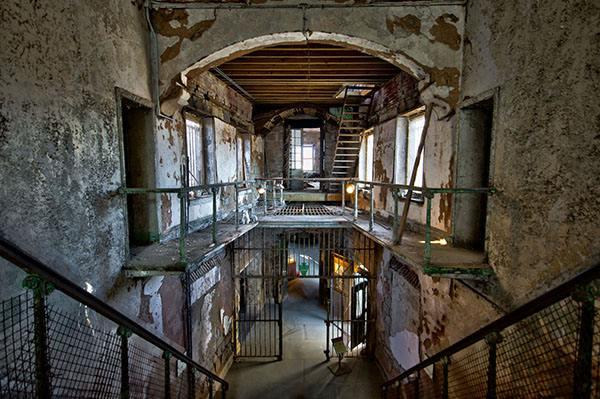 salah satu ruangan penjara yang paling mematikan