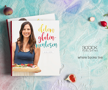 """""""Életem gluténmentesen"""" című könyvem 25% kedvezménnyel előrendelhető!"""