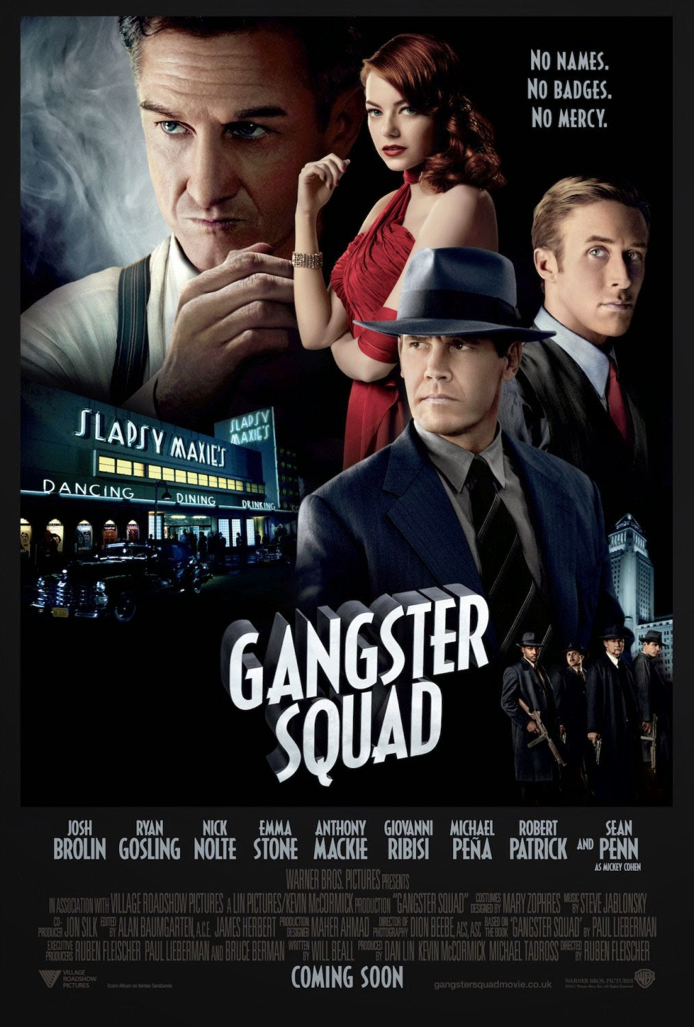 Gangster squad 2013 ταινιες online seires xrysoi greek subs