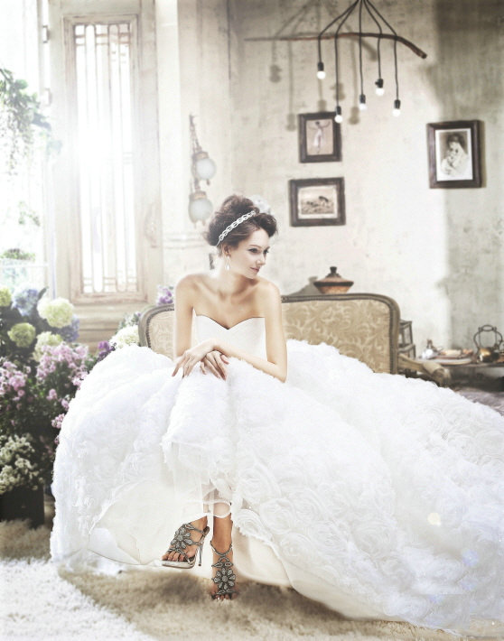 Perfect korean wedding dresses hairstyles and fashion