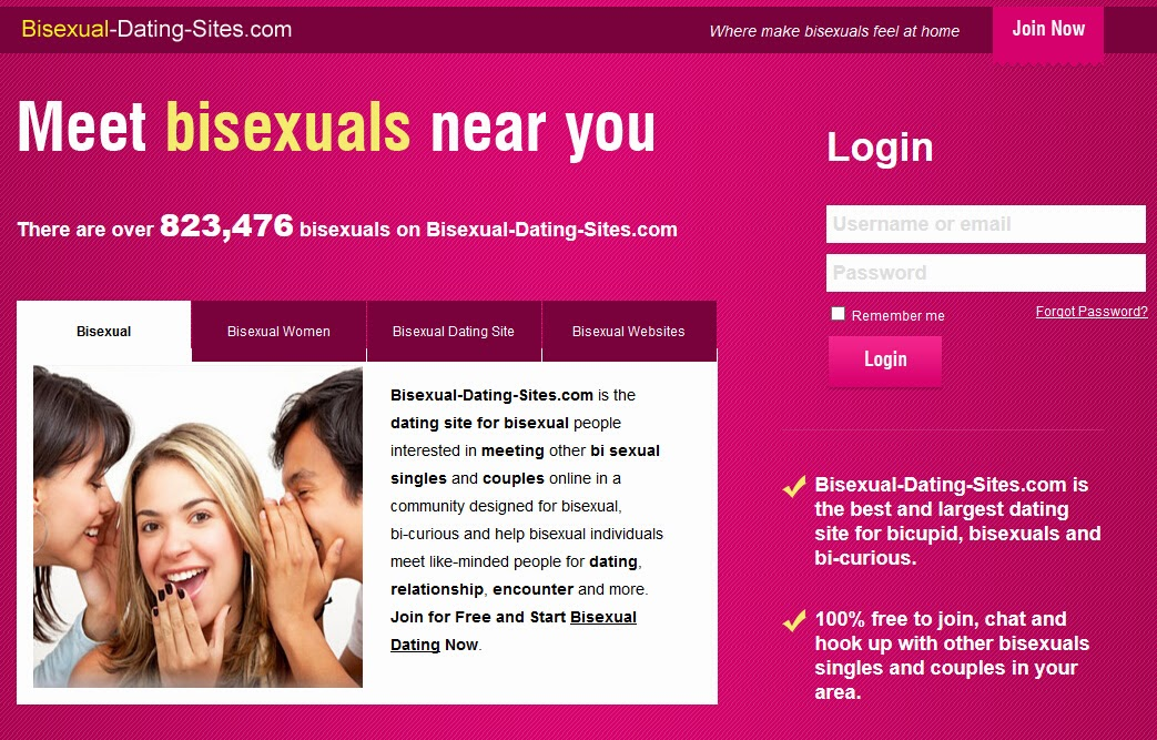 Dating website for bisexual females