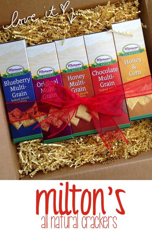 Milton All-Natural Snack Crackers