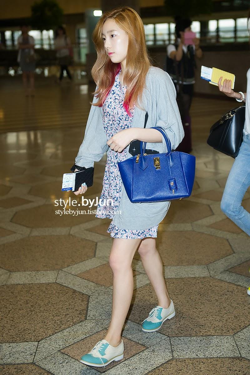 Snsd taeyeon airport 2013
