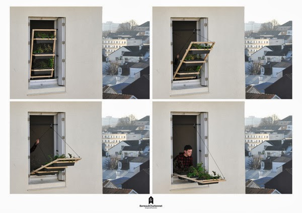 Create a Tiny Terrace for Upper Floor Apartments