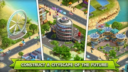 Bangun kota baru impian anda sendiri dengan game 2020 : My Country - Free Download Apk