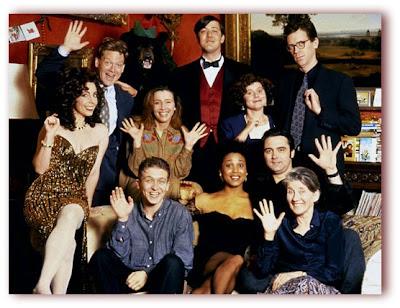 Imagem do elenco do filme Para o Resto de Nossas Vidas (Peter's Friends)
