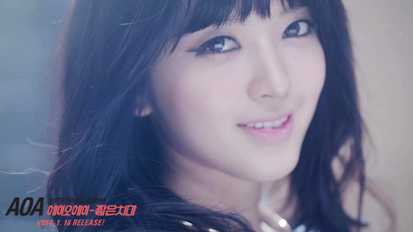 AOA Miniskirt Chanmi teaser