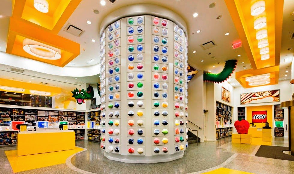Loja Lego Store New York