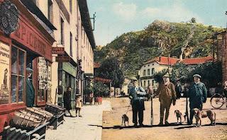 carte postale Chasseurs, Chamalière sur Loire , Haute Loire