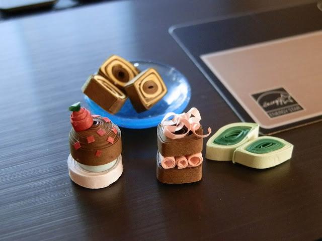 Miniature Cakes , Paper cakes