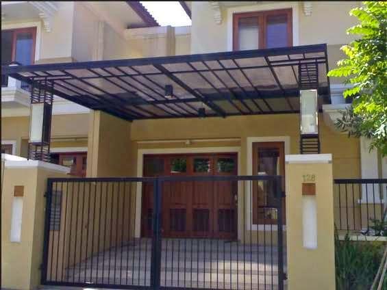 Contoh Model Kanopi Rumah Minimalis Modern