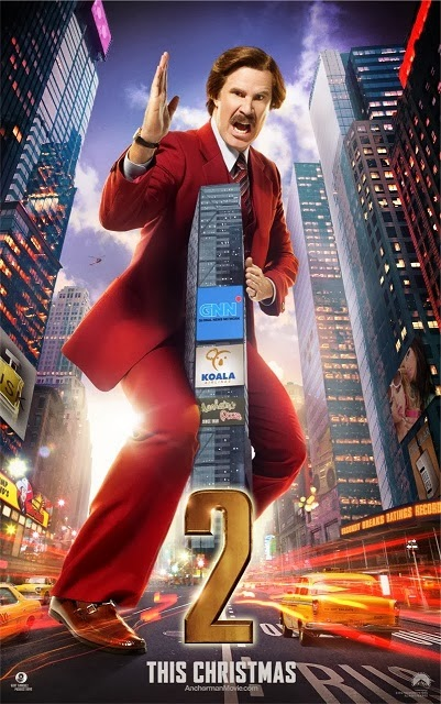 Anchorman 2: The Legend Continues (2013) Online