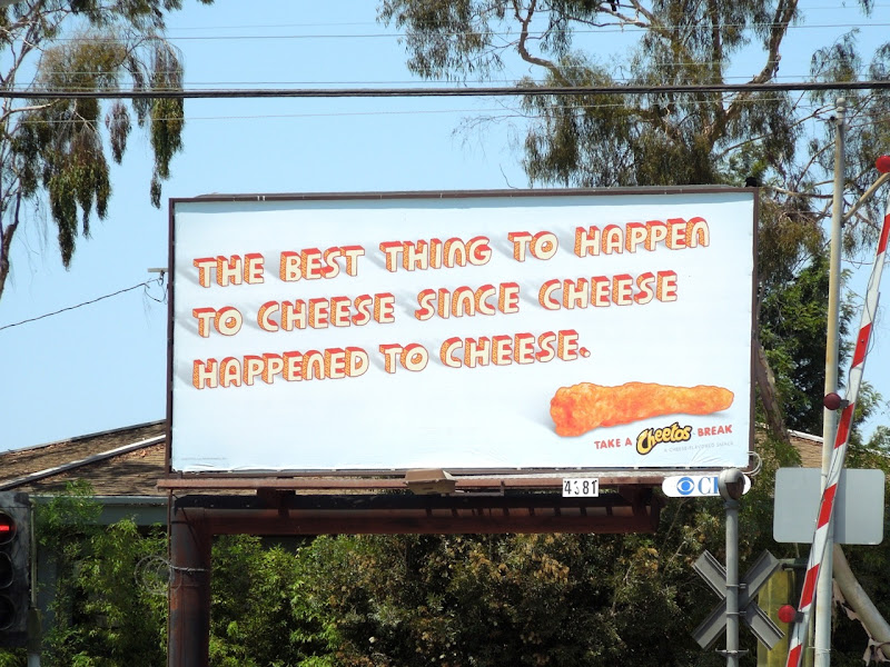 Cheetos Best thing to happen to cheese billboard