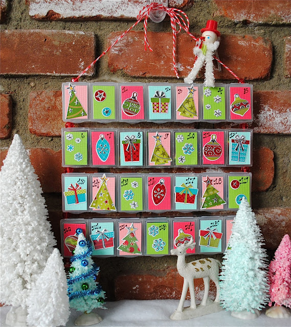 wacky tacky advent calendar