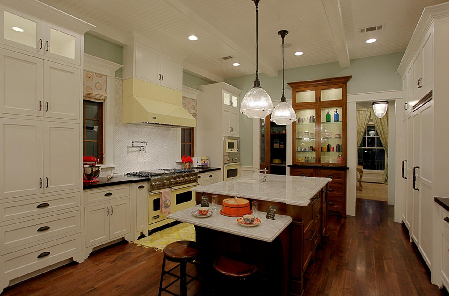 Delorme designs southern living showcase house 2012 houston for Southern living kitchen designs