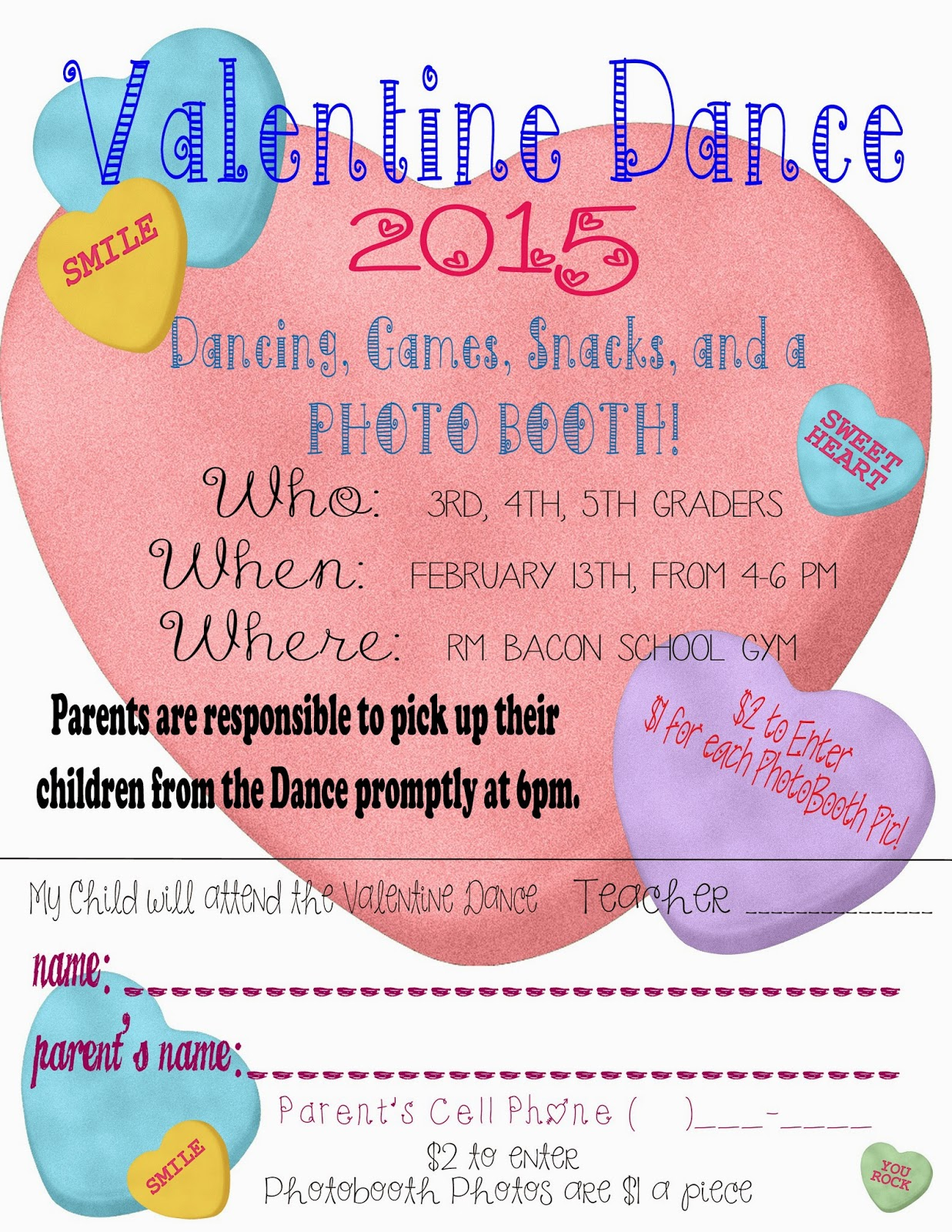 Valentines Dance Flyers Ottodeemperor