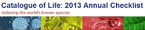 Catalogue of Life: 2013 Annual Checklist