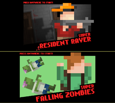 Super Resident Raver e Super Falling Zombies