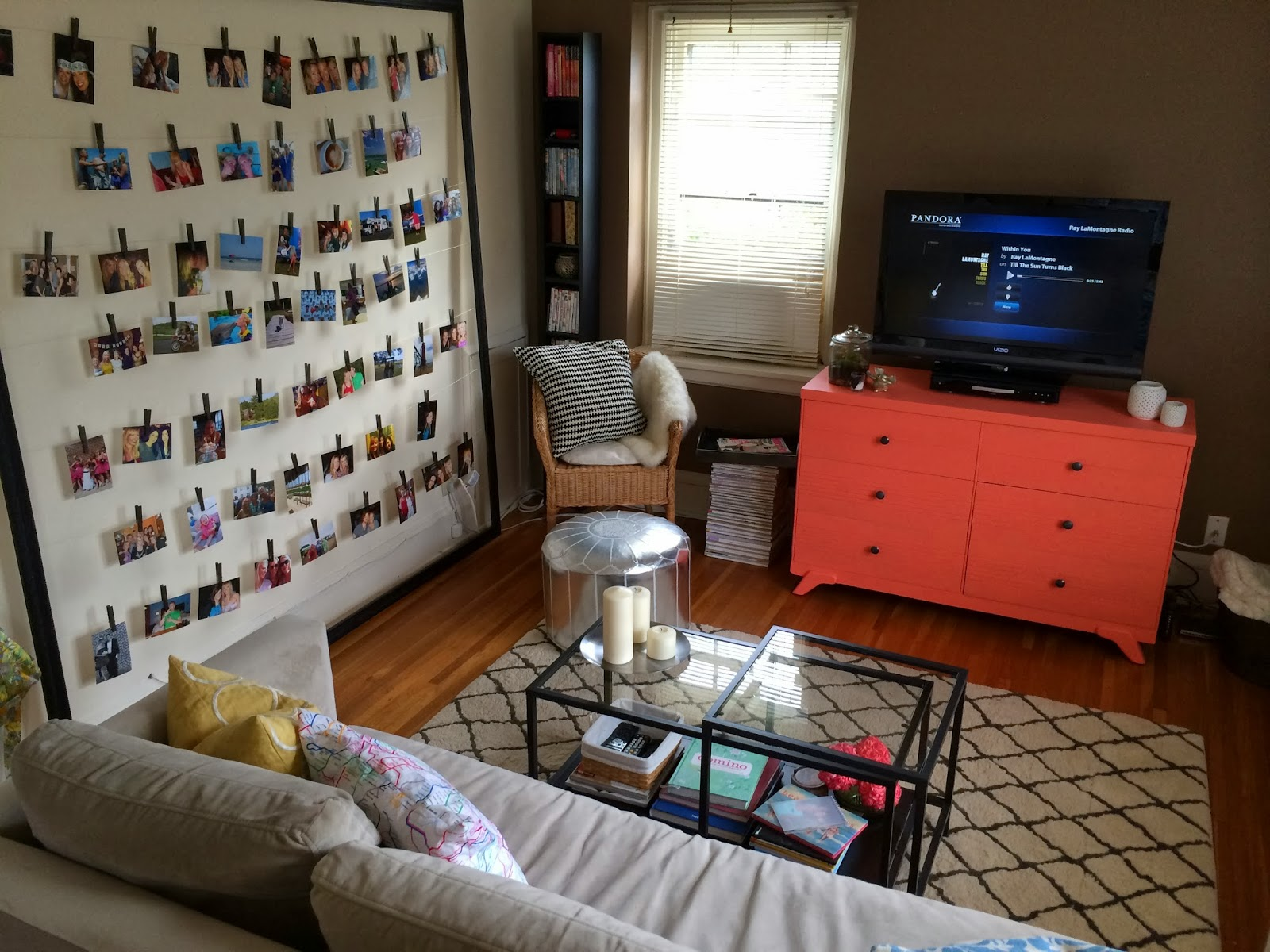 What Size Tv Should I Get For My Living Room Part - 20: Decor: Living Room Before/After