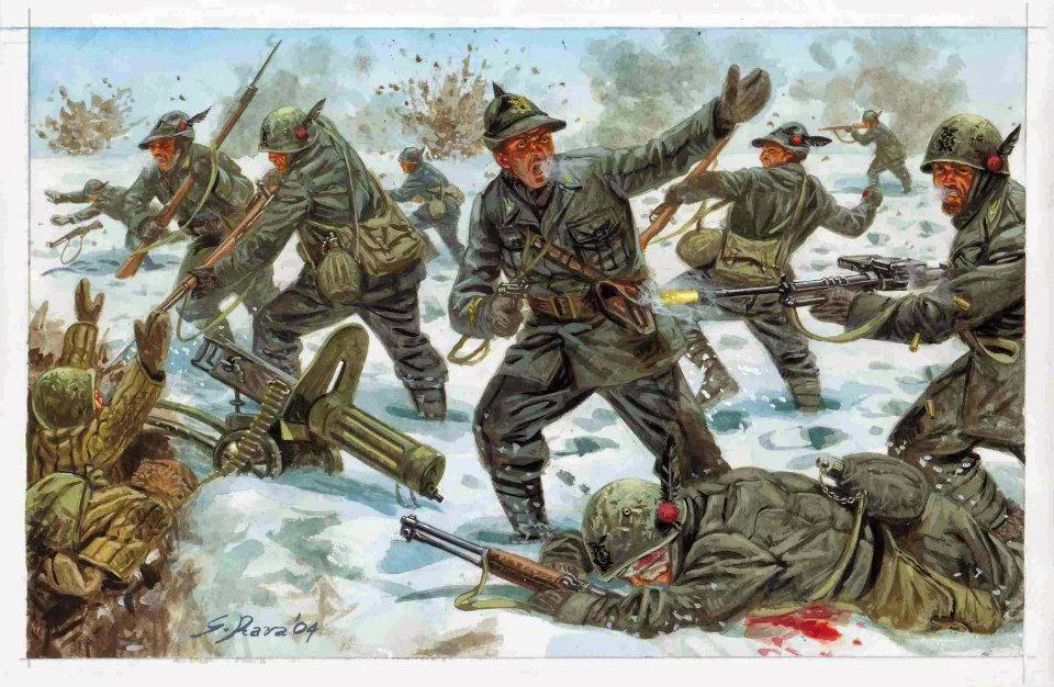 Foto alpini ritirata di russia 95