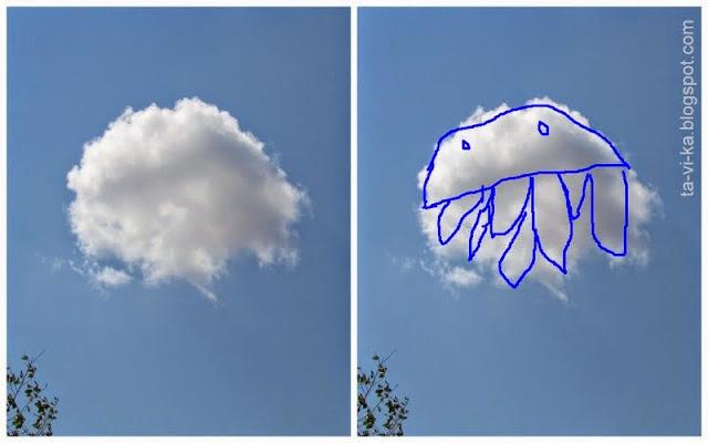 рисунки на облаках