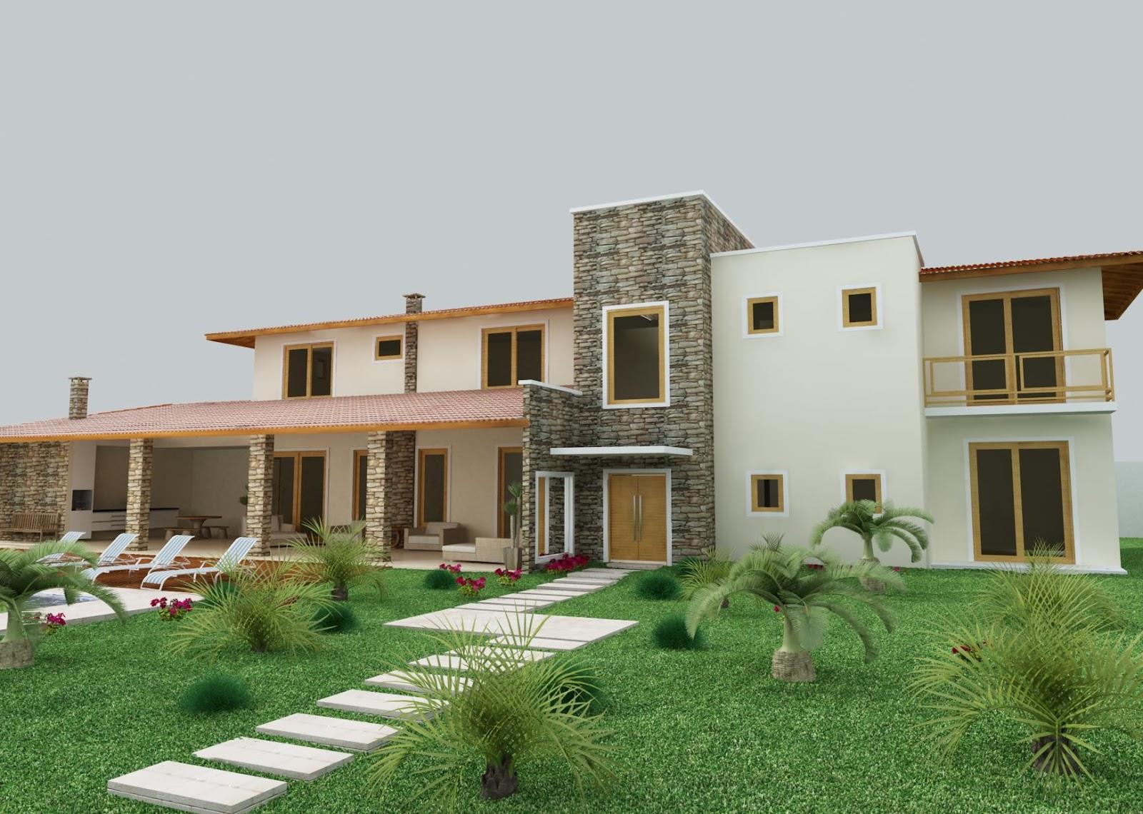 Casas de campo casas y fachadas for Fachadas de casas de campo
