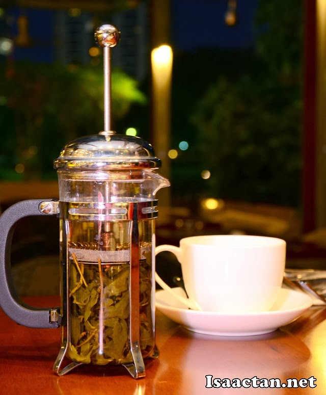 Gryphon Fine Tea Selection is available at Limoncello Bistro & Bar Suria KLCC too