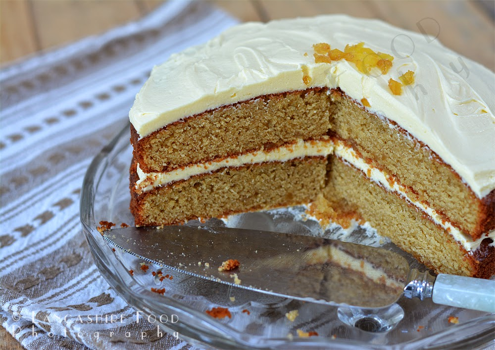 Ginger Zinger cake - gluten free and super easy