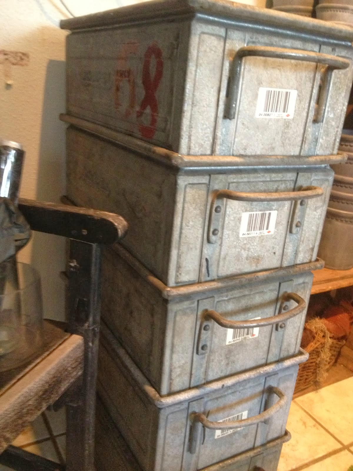 Vintage kasser--