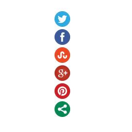 live demo for floating social bookmarking widgets for blogger