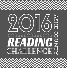 Ashe Library's 2016 Reading Challenge
