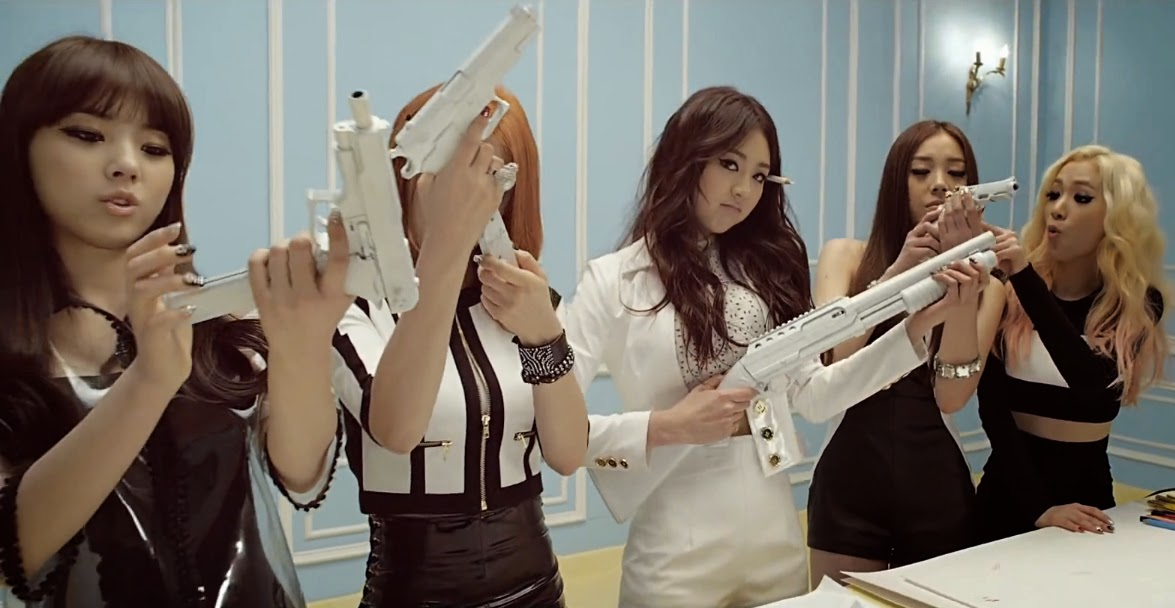 Ladies Code gets revenge in Bad Girl.