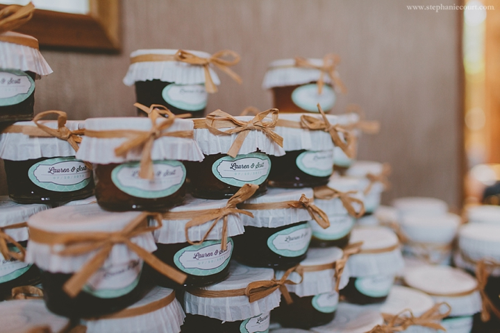 """homemade jam wedding favors"""