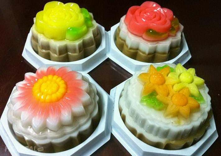 Vietnamese Dessert Recipes - Bánh trung thu rau câu