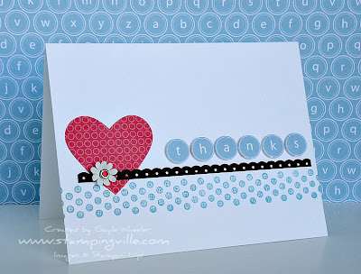 Clean & Simple Card with Borderlines Stamp Set by Stampin' Up!