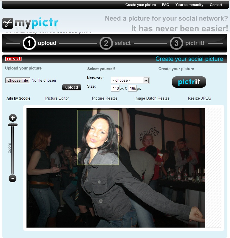 Photo editing resize free download