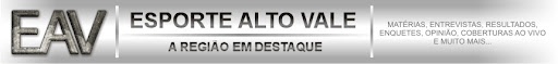 Esporte Alto Vale | A regio em destaque!