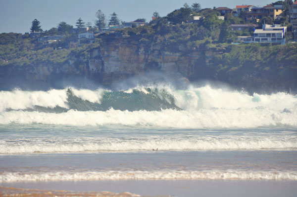 Dee Why beach surf waves