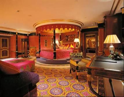 Burj Al Arab Hotel em Dubai - O único 7 estrelas
