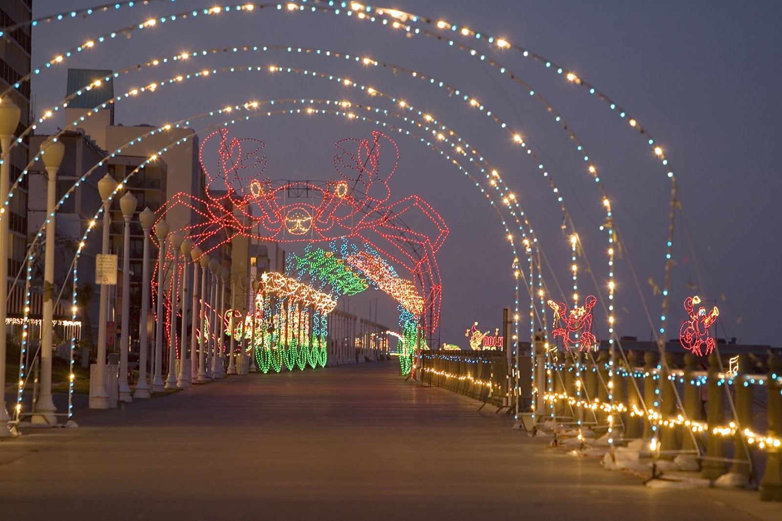 Lights At Va Beach