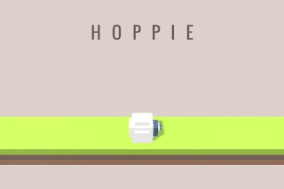 Screenshots of the Hoppie for Android tablet, phone.
