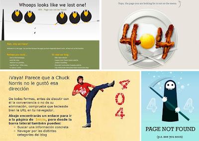 Los mensajes de error 404 de página no encontrada más originales, curiosos y divertidos