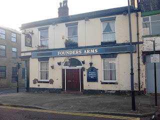Founders Arms St Georges Street Bolton image dated 28 September 2015