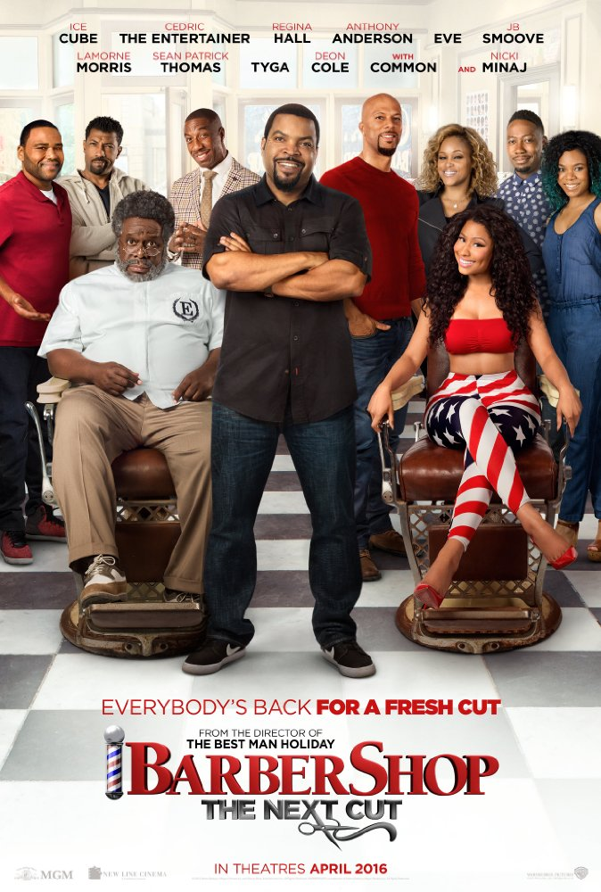 Nonton Barbershop: The Next Cut (2016)