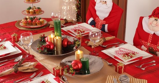 Como Decorar Una Mesa Para Navidad Decoracin Del Hogar Prosalocom