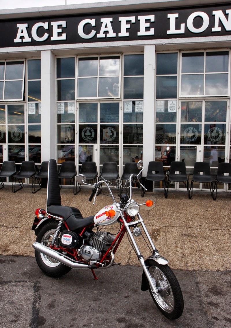 ITALIAN MOTOR at the Ace Cafe' Italian Day 2014