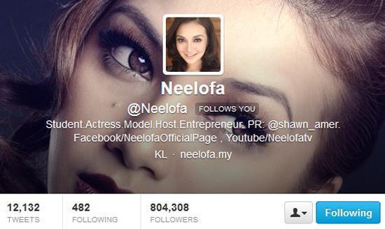 Neelofa suka OHBlogger Malaysia